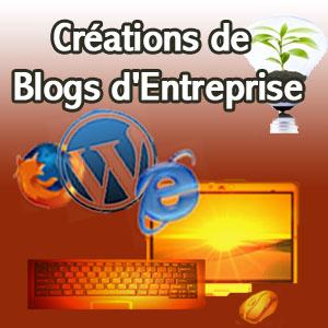Création de blog d'entreprise