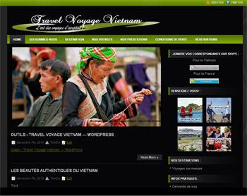 Site Agence de Voyage au vietnam
