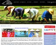 Développement et Rédactionnel pour site Agence de Voyage au Vietnam