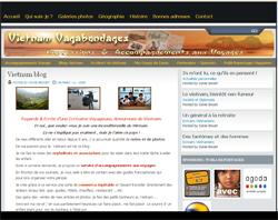 Création blog de voyage au Vietnam