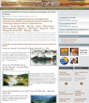 Blog voyage au vietnam par un developpeur de blog