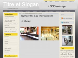 developpeur blog maquette installateur de magasin