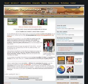 Création d'un blog sur des voyages au Vietnam