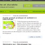conception blog consultant developpement entreprise