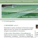 creation site plombier chauffagiste