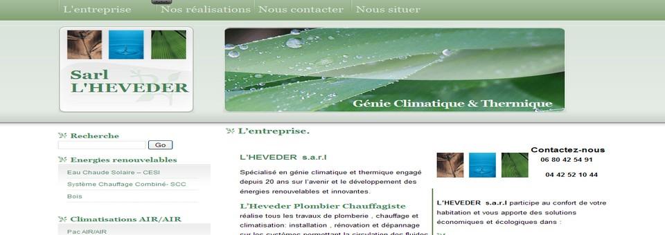 Création site artisan plombier chauffagiste