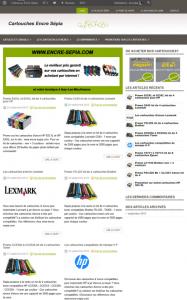 creation blog pour dynamiser boutique encre sepia