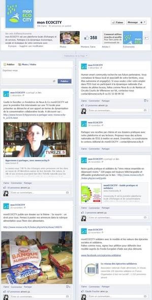 Page Facebook Mon ECOCITY