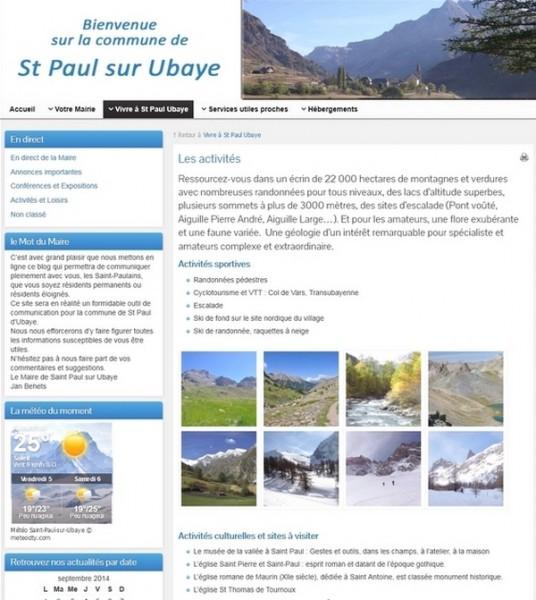 créer blog mairie-saint-paul-ubaye