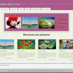 création blog Les peintures de Lili