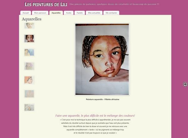 galerie peinture Aquarelles