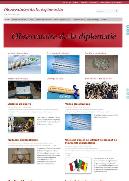 Blog Observatoire de la Diplomatie