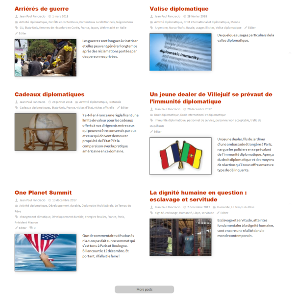 Presentation article blog Observatoire de la Diplomatie
