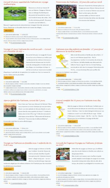 redactionnel blog agence de voyage